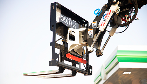 Altec LS Series Material Handling Attachment: Efficient Light and